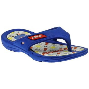 Boty Děti Žabky Peppa Pig  Modrá