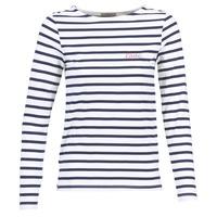 Textil Ženy Halenky / Blůzy Betty London FLIGEME Bílá / Modrá