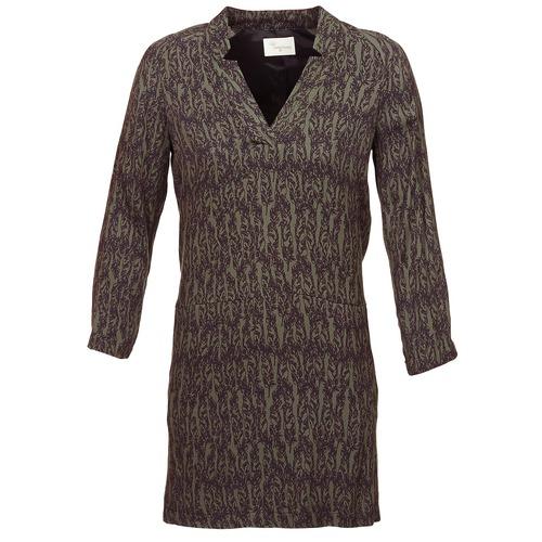 Textil Ženy Krátké šaty Stella Forest BRO024 Khaki