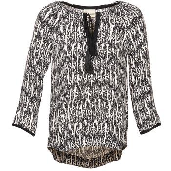 Textil Ženy Halenky / Blůzy Stella Forest BTU010 Krémově bílá / Černá