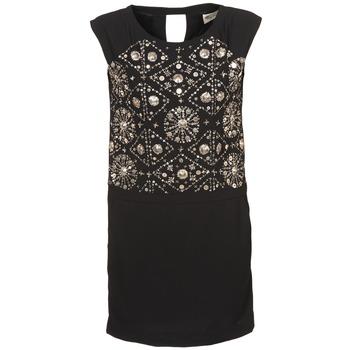 Textil Ženy Krátké šaty Stella Forest BRO040 Černá
