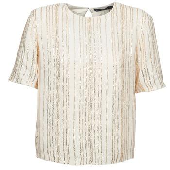 Textil Ženy Halenky / Blůzy Antik Batik ROMINA Krémová