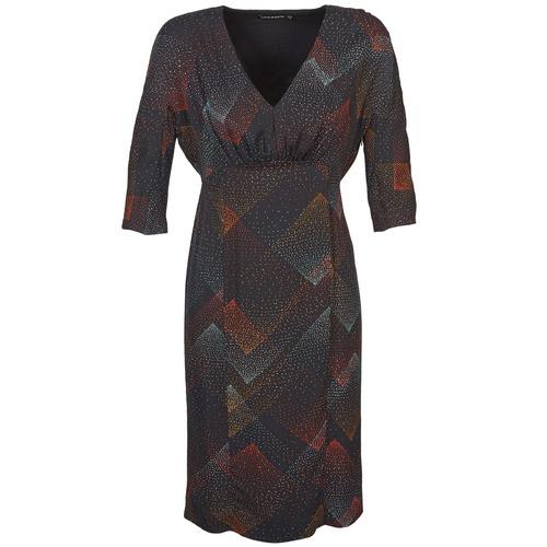 Textil Ženy Krátké šaty Antik Batik ORION Černá