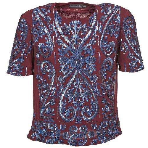 Textil Ženy Halenky / Blůzy Antik Batik NIAOULI Bordó