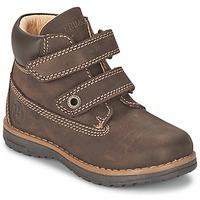 Boty Chlapecké Kotníkové boty Primigi ASPY 1 Hnědá