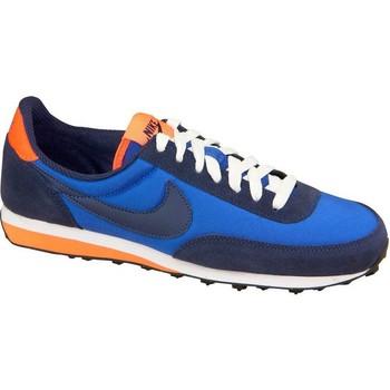 Boty Chlapecké Nízké tenisky Nike Elite GS Modré, Tmavomodré