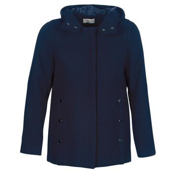Textil Ženy Kabáty Moony Mood FANIO Tmavě modrá