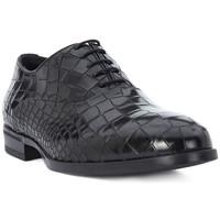 Boty Muži Šněrovací společenská obuv Eveet CROCCO NERO Nero