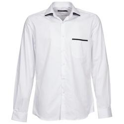 Textil Muži Košile s dlouhymi rukávy Pierre Cardin ANTOINE Bílá