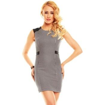 Textil Ženy Krátké šaty Jayloucy Černo-bílé elegantní dámské letní šaty černo-bílá