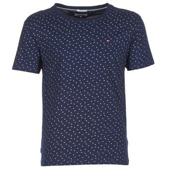 Textil Muži Trička s krátkým rukávem Tommy Jeans GRONTON Tmavě modrá