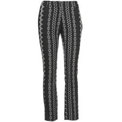 Textil Ženy Kapsáčové kalhoty Manoush TAILLEUR Šedá / Černá