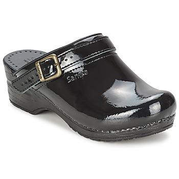 Boty Ženy Pantofle Sanita FREYA Černá
