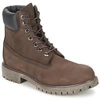 Boty Muži Kotníkové boty Timberland 6 IN PREMIUM BOOT Čokoládová