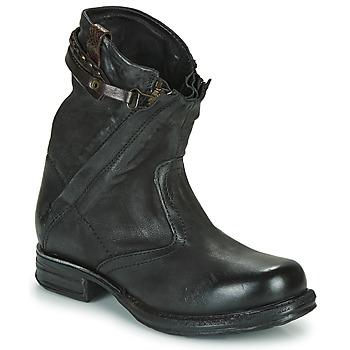 Boty Ženy Kotníkové boty Airstep / A.S.98 SAINT METAL ZIP Černá