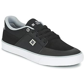 Boty Muži Nízké tenisky DC Shoes WES KREMER M SHOE XKSW Černá / Šedá / Bílá