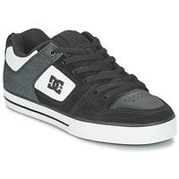 Boty Muži Skejťácké boty DC Shoes PURE SE M SHOE BKW Černá / Bílá