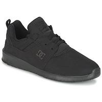 Boty Muži Nízké tenisky DC Shoes HEATHROW M SHOE 3BK Černá