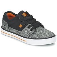 Boty Chlapecké Nízké tenisky DC Shoes TONIK TX SE B SHOE BGY Černá / Šedá / Oranžová
