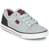 Boty Chlapecké Nízké tenisky DC Shoes TONIK B SHOE XSKR Šedá / Černá / Červená