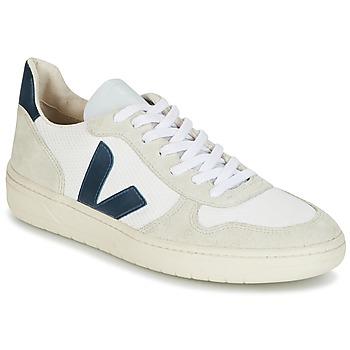 Boty Muži Nízké tenisky Veja V-10 Bílá / Modrá