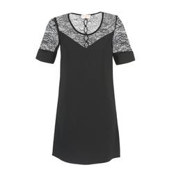 Textil Ženy Krátké šaty Moony Mood FUFU Černá