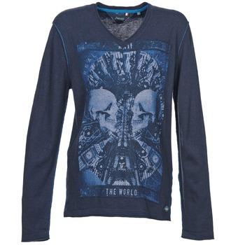 Textil Muži Svetry Le Temps des Cerises BREG Modrá