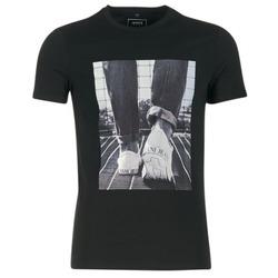 Textil Muži Trička s krátkým rukávem Armani jeans JANADORI Černá