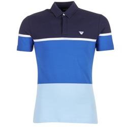 Textil Muži Polo s krátkými rukávy Armani jeans MARAFOTA Modrá