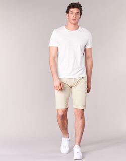 Textil Muži Kraťasy / Bermudy Armani jeans OFAGORA Béžová