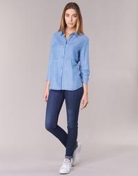Textil Ženy Rifle skinny Armani jeans HERTION Modrá