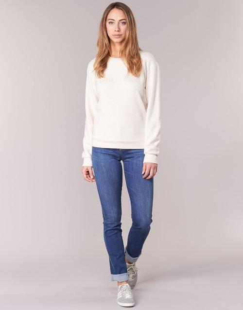 Textil Ženy Rifle rovné Armani jeans HOUKITI Modrá