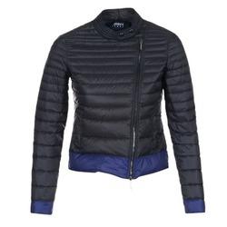 Textil Ženy Prošívané bundy Armani jeans BEAUJADO Černá / Modrá