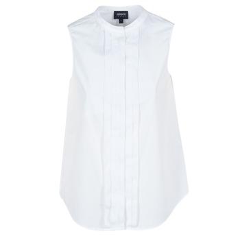 Textil Ženy Košile / Halenky Armani jeans GIKALO Bílá