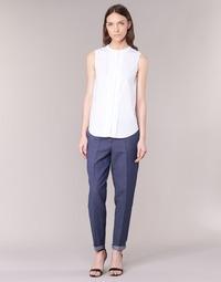 Textil Ženy Kapsáčové kalhoty Armani jeans JAFLORE Modrá