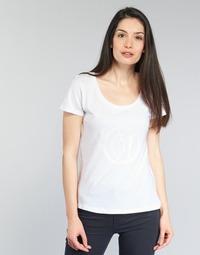 Textil Ženy Trička s krátkým rukávem Armani jeans LASSERO Bílá