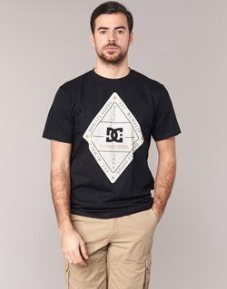 Textil Muži Trička s krátkým rukávem DC Shoes LONG DAY SS Černá