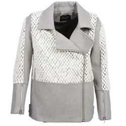 Textil Ženy Kabáty Eleven Paris FLEITZ Šedá / Béžová