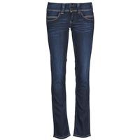 Textil Ženy Rifle rovné Pepe jeans VENUS Modrá