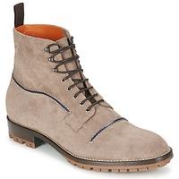 Boty Muži Kotníkové boty Etro E174 Šedobéžová