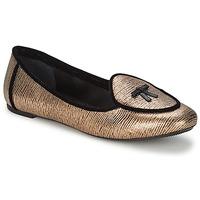 Boty Ženy Baleríny  Etro 3078 Zlatá