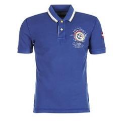 Textil Muži Polo s krátkými rukávy Napapijri GANDYS Modrá