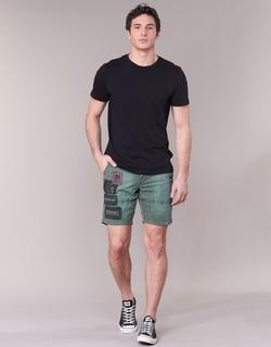 Textil Muži Kraťasy / Bermudy Napapijri NARWEE Khaki