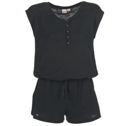 Textil Ženy Overaly / Kalhoty s laclem Roxy ALWAYS ON MY MIND Černá