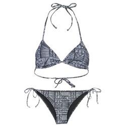 Textil Ženy Bikini Roxy DOLTY Černá / Bílá