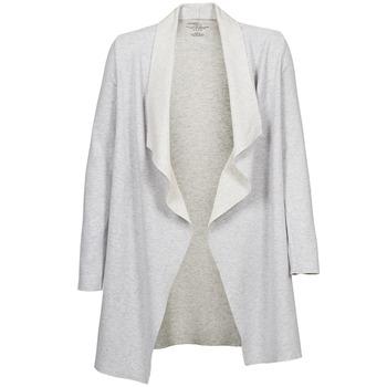 Textil Ženy Svetry / Svetry se zapínáním Majestic 2002 Krémově bílá