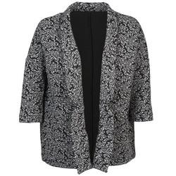 Textil Ženy Saka / Blejzry Sisley FRANDA Černá / Šedá