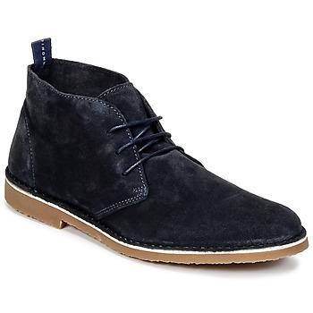 Boty Muži Kotníkové boty Selected ROYCE NEW Tmavě modrá