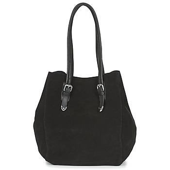 Taška Ženy Velké kabelky / Nákupní tašky Ikks THE CAPTAIN Černá