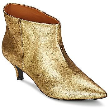 Polokozačky / Kotníkové boty RAS ESPE Zlatá 350x350